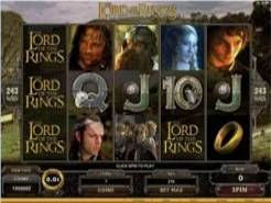 The Lord of the Rings - The Fellowship of the Ring Slots